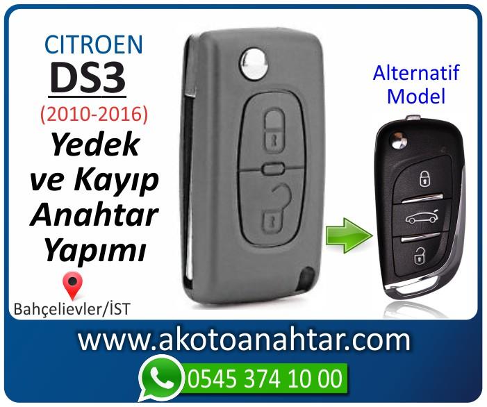 Citroen ds3 ds 3 anahtari anahtar key yedek yaptirma fiyati kopyalama cogaltma kayip 2010 2011 2012 2013 2014 2015 2016 model - Citroen DS3 Anahtarı | Yedek ve Kayıp Anahtar Yapımı