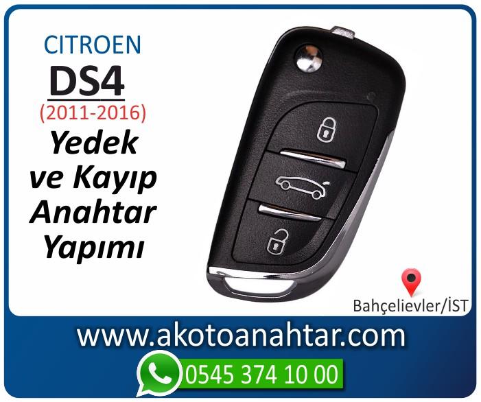 Citroen ds4 ds 4 anahtari anahtar key yedek yaptirma fiyati kopyalama cogaltma kayip 2009 2010 2011 2012 2013 2014 model - Citroen DS4 Anahtarı | Yedek ve Kayıp Anahtar Yapımı