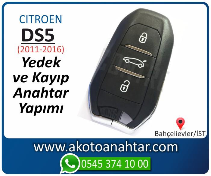 Citroen ds5 ds 5 anahtari anahtar key yedek yaptirma fiyati kopyalama cogaltma kayip 2009 2010 2011 2012 2013 2014 model - Citroen DS5 Anahtarı | Yedek ve Kayıp Anahtar Yapımı