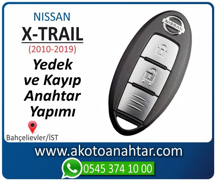 Nissan X trail smart anahtari anahtar key yedek yaptirma fiyati kopyalama cogaltma kayip 2010 2011 2012 2013 2014 2015 2016 2017 2018 2019 model - Nissan X-Trail Smart Anahtarı | Yedek ve Kayıp Anahtar Yapımı