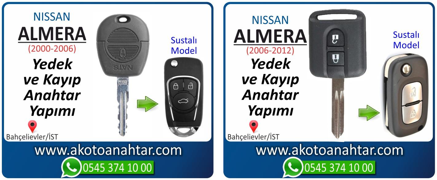 Nissan almera anahtarı - Nissan Almera Anahtarı | Yedek ve Kayıp Anahtar Yapımı