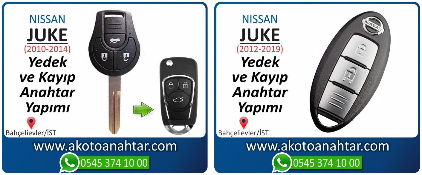 Nissan juke anahtarı - Nissan Juke Smart Anahtarı | Yedek ve Kayıp Anahtar Yapımı