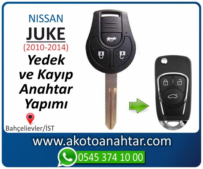 Nissan juke anahtari anahtar key yedek yaptirma fiyati kopyalama cogaltma kayip 2010 2011 2012 2013 2014 model - Nissan Juke Anahtarı | Yedek ve Kayıp Anahtar Yapımı