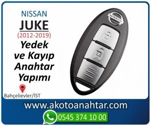 Nissan Juke Smart Araba Oto Otomobil Car Sustalı Yedek Kayıp Kumanda Kumandalı İmmobilizer Anahtar Anahtarı Çilingir Anahtarcı Acil Kopyalama Kodlama Locksmith Key Bahçelievler İstanbul Kayboldu Dönmüyor Okumuyor Orjinal Kontak Tamir Tamiri Çip