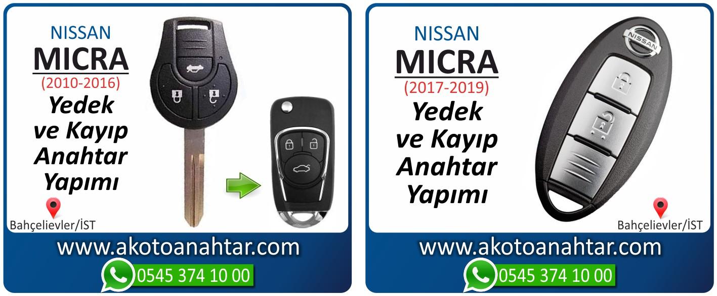 Nissan micra anahtarı - Nissan Micra Anahtarı | Yedek ve Kayıp Anahtar Yapımı
