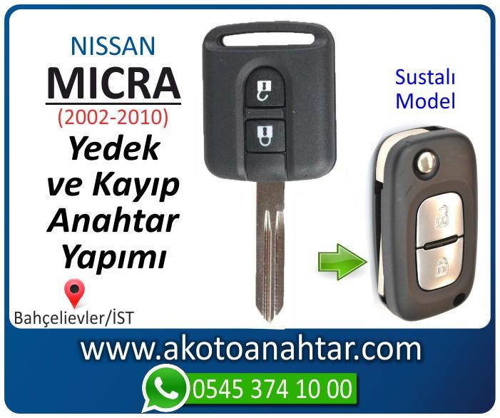 Nissan micra anahtari anahtar key yedek yaptirma fiyati kopyalama cogaltma kayip 2002 2003 2004 2005 2006 2007 2008 2009 2010 model - Nissan Micra Anahtarı | Yedek ve Kayıp Anahtar Yapımı