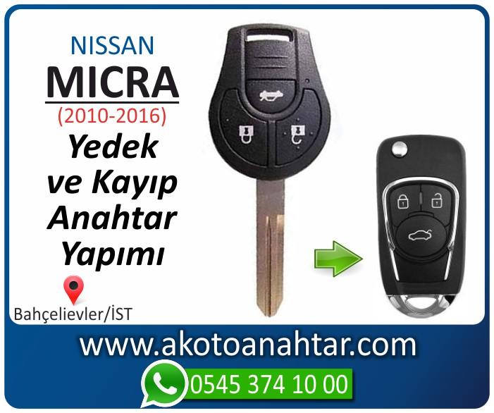 Nissan micra anahtari anahtar key yedek yaptirma fiyati kopyalama cogaltma kayip 2010 2011 2012 2013 2014 2015 2016 model - Nissan Micra Anahtarı | Yedek ve Kayıp Anahtar Yapımı