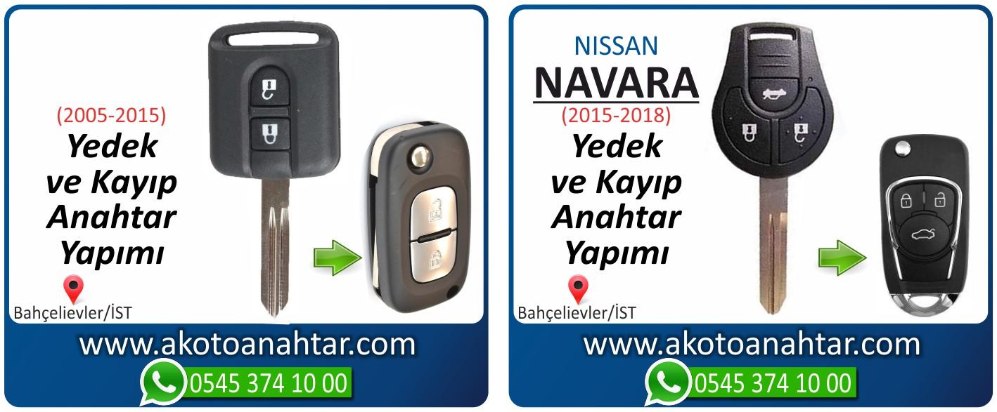 Nissan navara anahtarı 1 - Nissan Navara Anahtarı | Yedek ve Kayıp Anahtar Yapımı