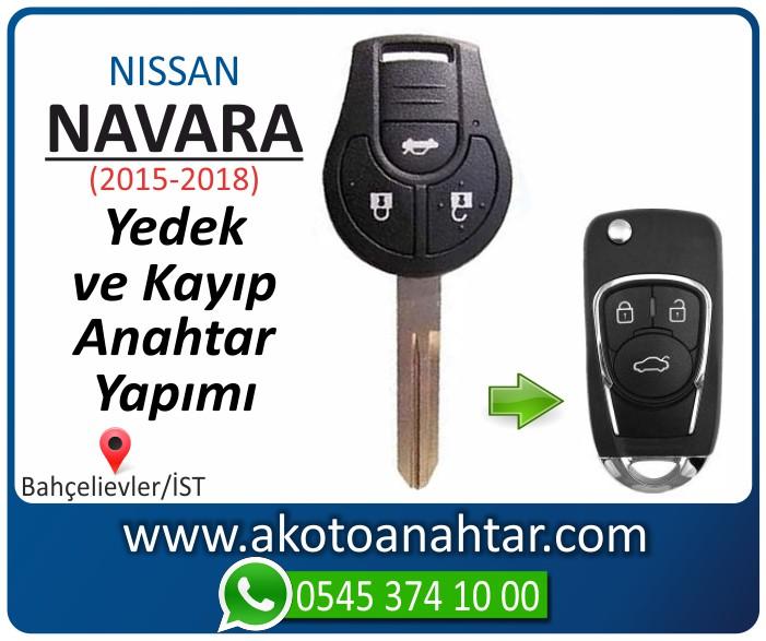 Nissan navara anahtari anahtar key yedek yaptirma fiyati kopyalama cogaltma kayip 2015 2016 2017 2018 model - Nissan Navara Anahtarı | Yedek ve Kayıp Anahtar Yapımı