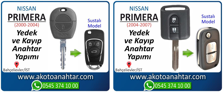 Nissan primera anahtarı - Nissan Primera Anahtarı | Yedek ve Kayıp Anahtar Yapımı