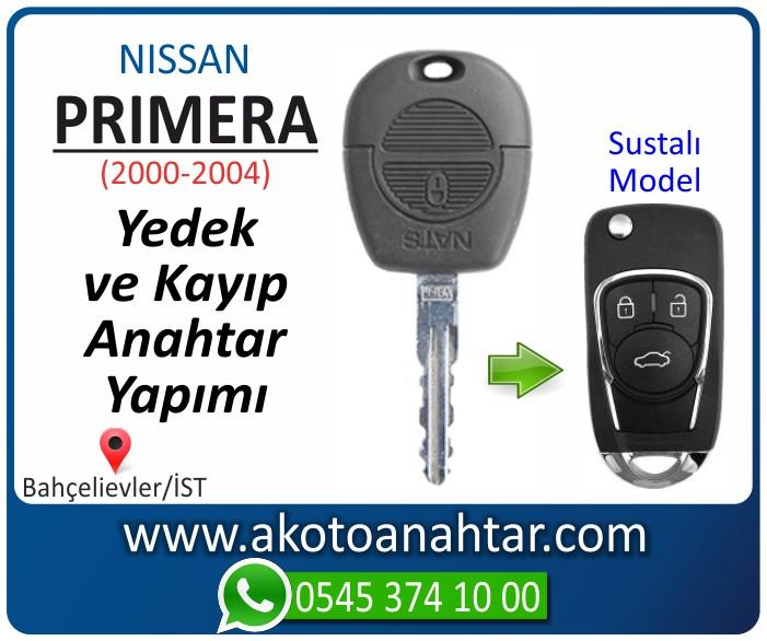 Nissan primera anahtari anahtar key yedek yaptirma fiyati kopyalama cogaltma kayip 2000 2001 2002 2003 2004 model - Nissan Primera Anahtarı | Yedek ve Kayıp Anahtar Yapımı