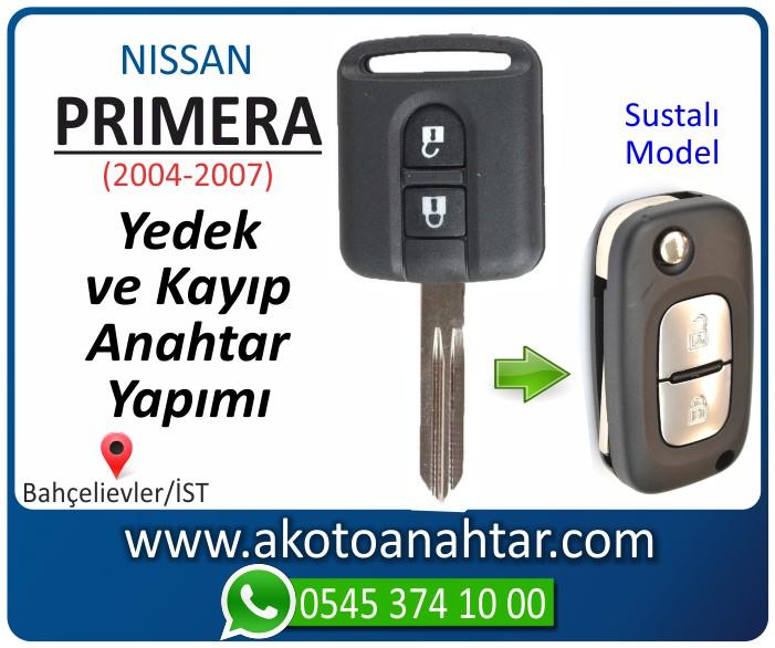 Nissan primera anahtari anahtar key yedek yaptirma fiyati kopyalama cogaltma kayip 2004 2005 2006 2007 model - Nissan Primera Anahtarı | Yedek ve Kayıp Anahtar Yapımı