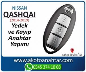 Nissan Qashqai Smart Araba Oto Otomobil Car Sustalı Yedek Kayıp Kumanda Kumandalı İmmobilizer Anahtar Anahtarı Çilingir Anahtarcı Acil Kopyalama Kodlama Locksmith Key Bahçelievler İstanbul Kayboldu Dönmüyor Okumuyor Orjinal Kontak Tamir Tamiri Çip