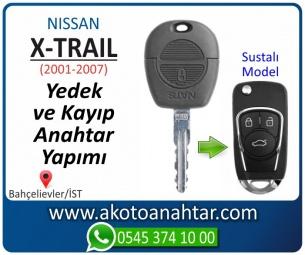 Nissan X-trail Araba Oto Otomobil Car Sustalı Yedek Kayıp Kumanda Kumandalı İmmobilizer Anahtar Anahtarı Çilingir Anahtarcı Acil Kopyalama Kodlama Locksmith Key Bahçelievler İstanbul Kayboldu Dönmüyor Okumuyor Orjinal Kontak Tamir Tamiri Çip
