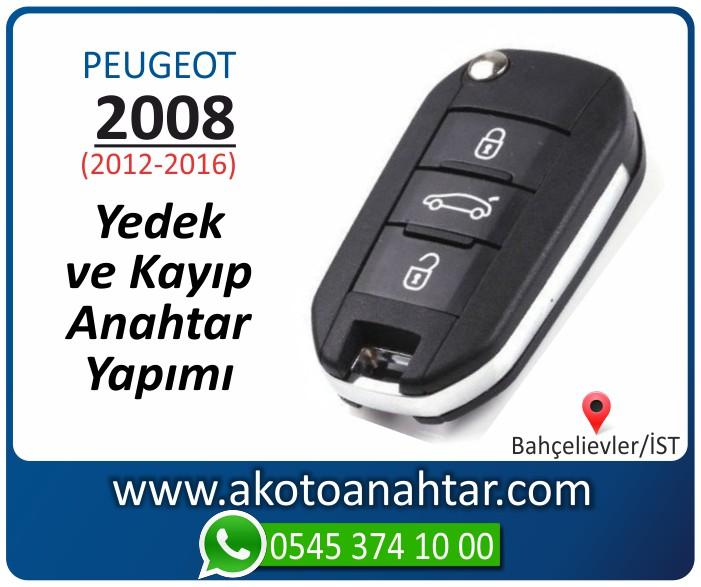 Peugeot 2008 anahtari anahtar key yedek yaptirma fiyati kopyalama cogaltma kayip 2012 2013 2014 2015 2016 model - Peugeot 2008 Anahtarı | Yedek ve Kayıp Anahtar Yapımı