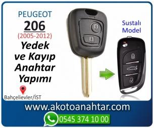 Peugeot 206 Araba Oto Otomobil Car Sustalı Yedek Kayıp Kumanda Kumandalı İmmobilizer Anahtar Anahtarı Çilingir Anahtarcı Acil Kopyalama Kodlama Locksmith Key Bahçelievler İstanbul Kayboldu Dönmüyor Okumuyor Orjinal Kontak Tamir Tamiri Çip
