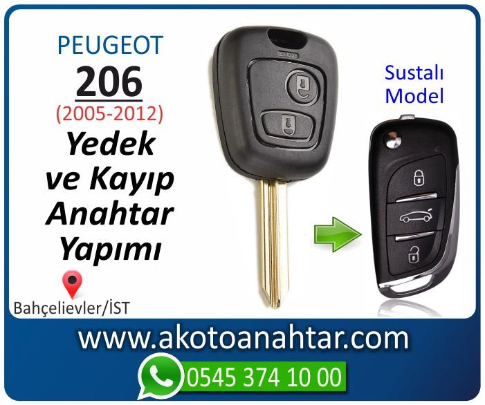 Peugeot 206 anahtari anahtar key yedek yaptirma fiyati kopyalama cogaltma kayip 2005 2006 2007 2008 2009 2010 2011 2012 model - Peugeot 206 Anahtarı | Yedek ve Kayıp Anahtar Yapımı