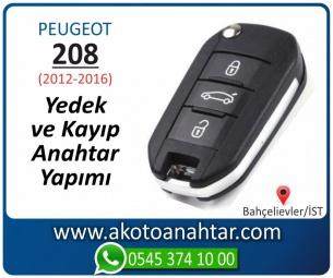 Peugeot 208 Araba Oto Otomobil Car Sustalı Yedek Kayıp Kumanda Kumandalı İmmobilizer Anahtar Anahtarı Çilingir Anahtarcı Acil Kopyalama Kodlama Locksmith Key Bahçelievler İstanbul Kayboldu Dönmüyor Okumuyor Orjinal Kontak Tamir Tamiri Çip
