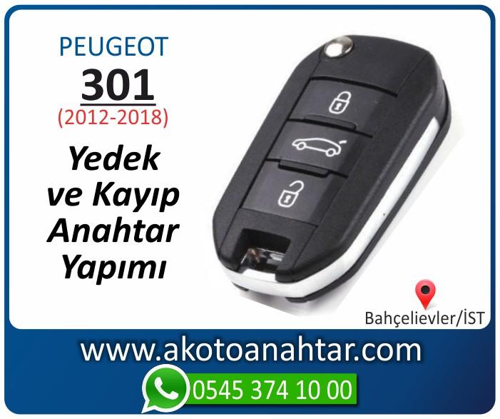 Peugeot 301 anahtari anahtar key yedek yaptirma fiyati kopyalama cogaltma kayip 2012 2013 2014 2015 2016 2017 2018 model - Peugeot 301 Anahtarı | Yedek ve Kayıp Anahtar Yapımı