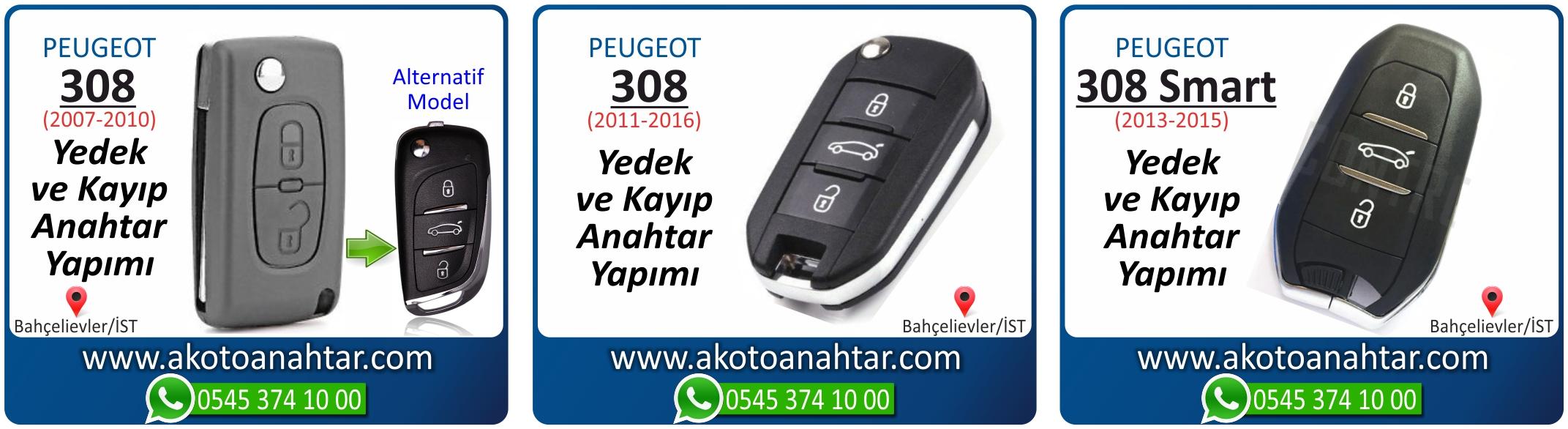 Peugeot 308 anahtari - Peugeot 308 Anahtarı | Yedek ve Kayıp Anahtar Yapımı