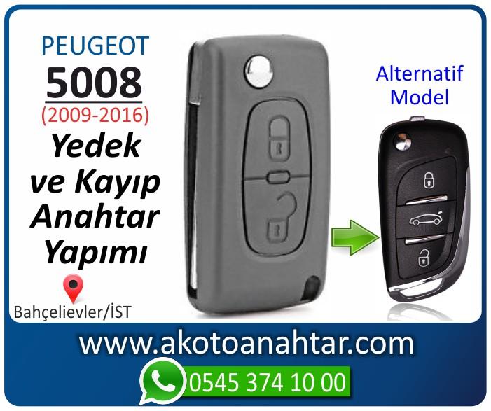 Peugeot 5008 anahtari anahtar key yedek yaptirma fiyati kopyalama cogaltma kayip 2009 2010 2011 2012 2013 2014 2015 2016 model - Peugeot 5008 Anahtarı | Yedek ve Kayıp Anahtar Yapımı