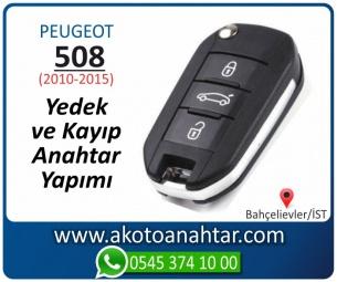 Peugeot 508 Araba Oto Otomobil Car Sustalı Yedek Kayıp Kumanda Kumandalı İmmobilizer Anahtar Anahtarı Çilingir Anahtarcı Acil Kopyalama Kodlama Locksmith Key Bahçelievler İstanbul Kayboldu Dönmüyor Okumuyor Orjinal Kontak Tamir Tamiri Çip
