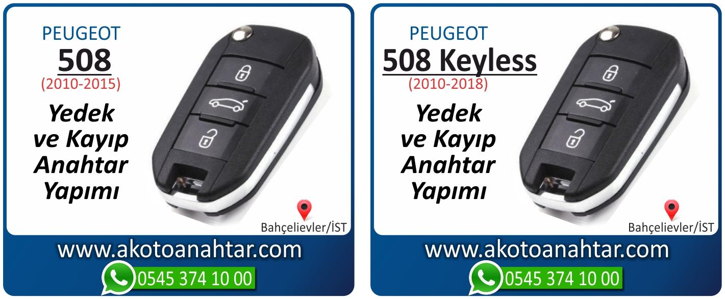 Peugeot 508 anahtari - Peugeot 508 Anahtarı | Yedek ve Kayıp Anahtar Yapımı