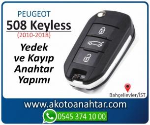 Peugeot 508 Smart Araba Oto Otomobil Car Sustalı Yedek Kayıp Kumanda Kumandalı İmmobilizer Anahtar Anahtarı Çilingir Anahtarcı Acil Kopyalama Kodlama Locksmith Key Bahçelievler İstanbul Kayboldu Dönmüyor Okumuyor Orjinal Kontak Tamir Tamiri Çip