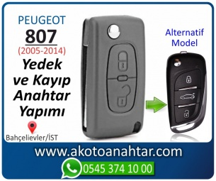 Peugeot 807 Araba Oto Otomobil Car Sustalı Yedek Kayıp Kumanda Kumandalı İmmobilizer Anahtar Anahtarı Çilingir Anahtarcı Acil Kopyalama Kodlama Locksmith Key Bahçelievler İstanbul Kayboldu Dönmüyor Okumuyor Orjinal Kontak Tamir Tamiri Çip