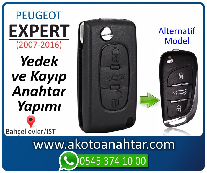 Peugeot expert anahtari anahtar key yedek yaptirma fiyati kopyalama cogaltma kayip 2007 2008 2009 2010 2011 2012 2013 2014 2015 2016 model - Peugeot Expert Anahtarı | Yedek ve Kayıp Anahtar Yapımı