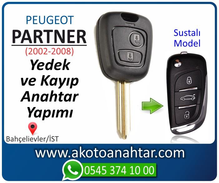 Peugeot partner anahtari anahtar key yedek yaptirma fiyati kopyalama cogaltma kayip 2002 2003 2004 2005 2006 2007 2008 model - Peugeot Partner Anahtarı | Yedek ve Kayıp Anahtar Yapımı