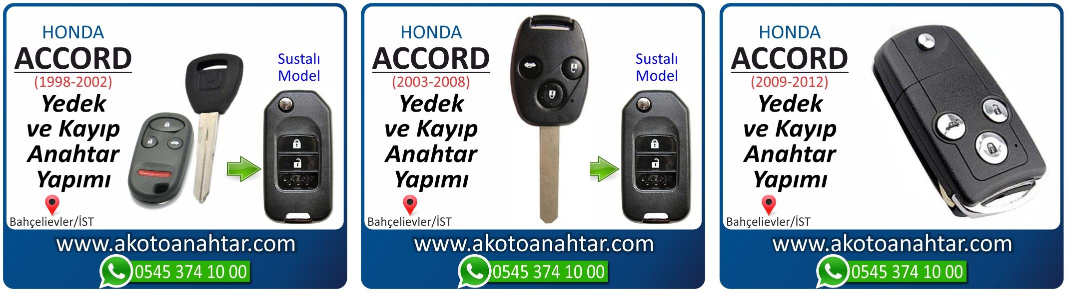 honda accort anahtari - Honda Accord Anahtarı | Yedek ve Kayıp Anahtar Yapımı