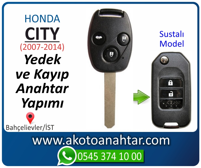 honda city anahtari anahtar key yedek yaptirma fiyati kopyalama cogaltma kayip 2007 2008 2009 2010 2011 2012 2013 2014 model - Honda City Anahtarı | Yedek ve Kayıp Anahtar Yapımı