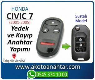 Honda Civic Araba Oto Otomobil Car Sustalı Yedek Kayıp Kumanda Kumandalı İmmobilizer Anahtar Anahtarı Çilingir Anahtarcı Acil Kopyalama Kodlama Locksmith Key Bahçelievler İstanbul Kayboldu Dönmüyor Okumuyor Orjinal Kontak Tamir Tamiri Çip