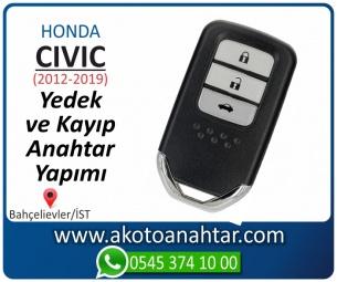Honda Civic Smart Araba Oto Otomobil Car Sustalı Yedek Kayıp Kumanda Kumandalı İmmobilizer Anahtar Anahtarı Çilingir Anahtarcı Acil Kopyalama Kodlama Locksmith Key Bahçelievler İstanbul Kayboldu Dönmüyor Okumuyor Orjinal Kontak Tamir Tamiri Çip