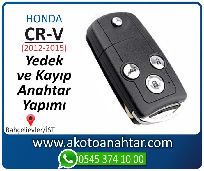 honda cr v anahtari anahtar key yedek yaptirma fiyati kopyalama cogaltma kayip 2012 2013 2014 2015 model - Honda CR-V Anahtarı | Yedek ve Kayıp Anahtar Yapımı