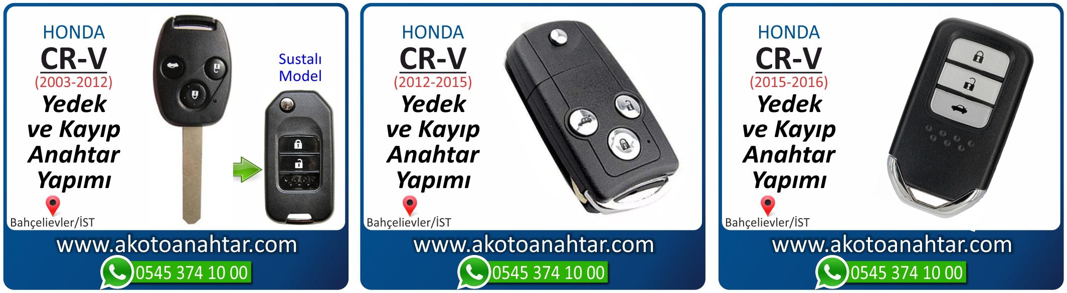 honda cr v anahtari - Honda CR-V Anahtarı | Yedek ve Kayıp Anahtar Yapımı
