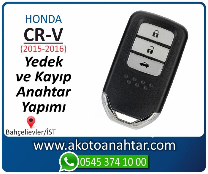 honda cr v smart anahtari anahtar key yedek yaptirma fiyati kopyalama cogaltma kayip 2015 2016 model - Honda CR-V Smart Anahtarı | Yedek ve Kayıp Anahtar Yapımı