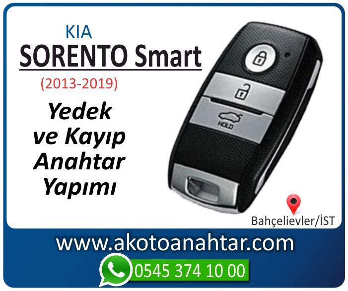 kia sorento smart anahtari anahtar key yedek yaptirma fiyati kopyalama cogaltma kayip 2013 2014 2015 2016 2017 2018 2019 model - Kia Sorento Smart Anahtarı | Yedek ve Kayıp Anahtar Yapımı