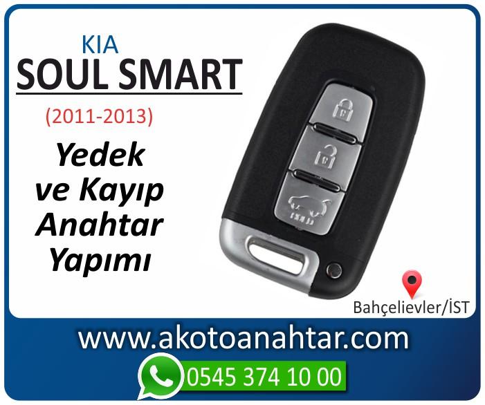 kia soul smart anahtari anahtar key yedek yaptirma fiyati kopyalama cogaltma kayip 2011 2012 2013 model - Kia Soul Smart Anahtarı | Yedek ve Kayıp Anahtar Yapımı