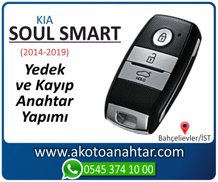 kia soul smart anahtari anahtar key yedek yaptirma fiyati kopyalama cogaltma kayip 2014 2015 2016 2017 2018 2019 model - Yeni Kia Soul Anahtarı | Yedek ve Kayıp Anahtar Yapımı
