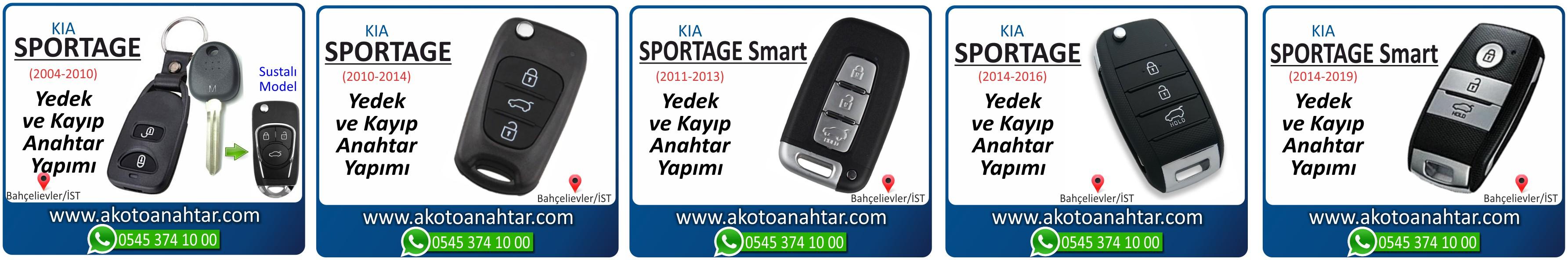 kia sportage anahtari - Sportage Smart Anahtarı | Yedek ve Kayıp Anahtar Yapımı