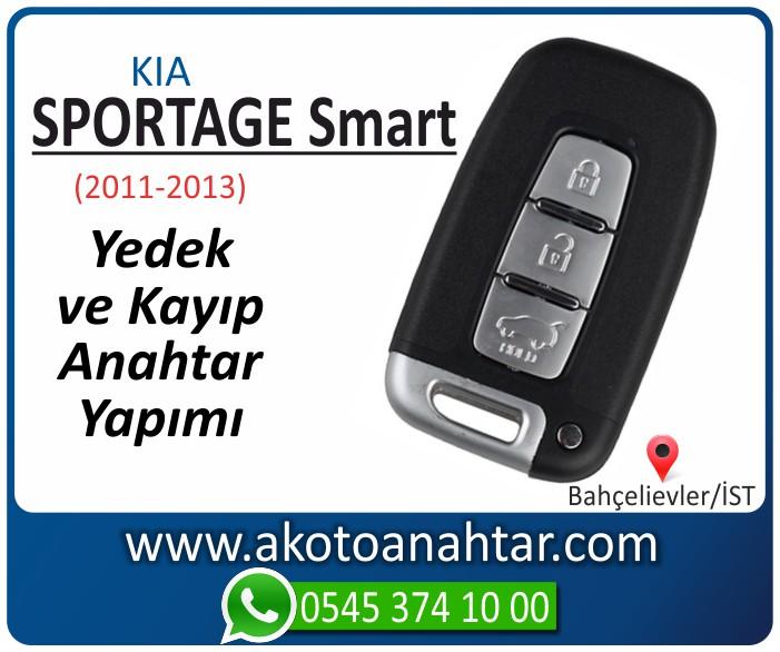 kia sportage smart anahtari anahtar key yedek yaptirma fiyati kopyalama cogaltma kayip 2011 2012 2013 model - Kia Sportage Smart Anahtarı | Yedek ve Kayıp Anahtar Yapımı