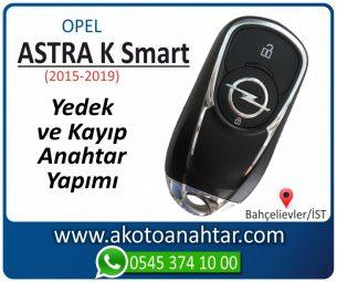 Opel Astra K Smart Araba Oto Otomobil Car Sustalı Yedek Kayıp Kumanda Kumandalı İmmobilizer Anahtar Anahtarı Çilingir Anahtarcı Acil Kopyalama Kodlama Locksmith Key Bahçelievler İstanbul Kayboldu Dönmüyor Okumuyor Orjinal Kontak Tamir Tamiri Çip