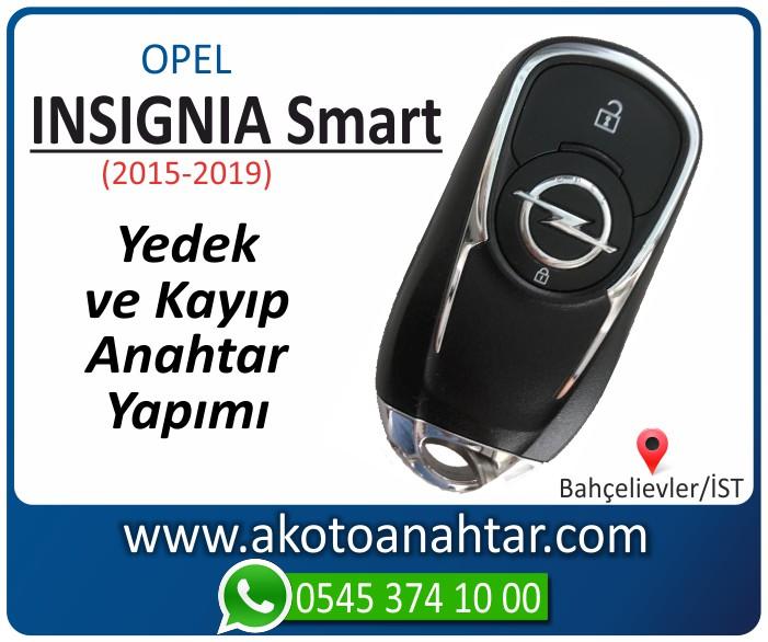 opel yeni insignia anahtari smart yeni keyless anahtar key yedek yaptirma fiyati kopyalama cogaltma kayip 2015 2016 2017 2018 2019 model - Yeni Opel İnsignia Smart Anahtarı | Yedek ve Kayıp Anahtar Yapımı
