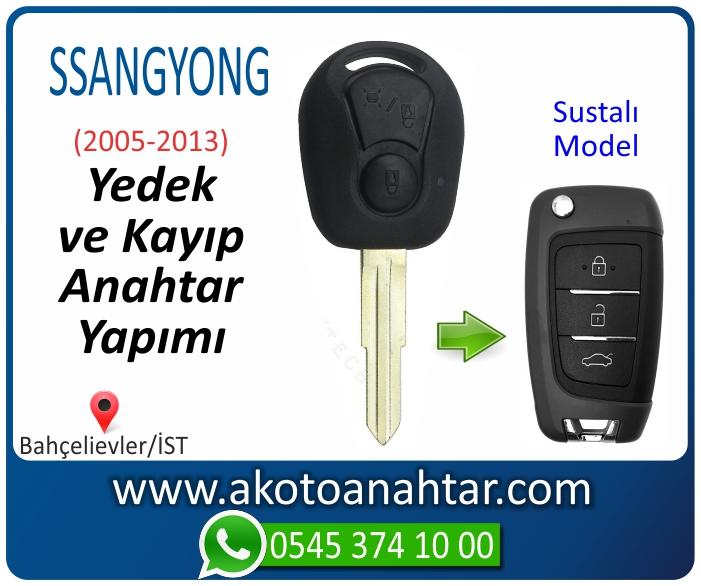 ssangyong anahtari anahtar key yedek yaptirma fiyati kopyalama cogaltma kayip 2005 2006 2007 2008 2009 2010 2011 2012 model - Ssangyong Anahtarı | Yedek ve Kayıp Anahtar Yapımı
