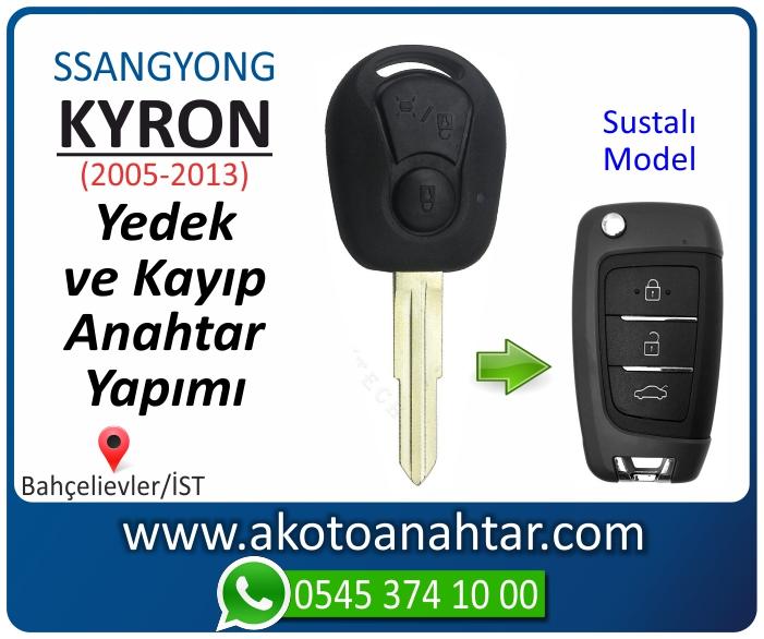 ssangyong kyron anahtari anahtar key yedek yaptirma fiyati kopyalama cogaltma kayip 2005 2006 2007 2008 2009 2010 2011 2012 model - Ssangyong Kyron Anahtarı | Yedek ve Kayıp Anahtar Yapımı