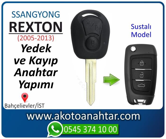 ssangyong rexton anahtari anahtar key yedek yaptirma fiyati kopyalama cogaltma kayip 2005 2006 2007 2008 2009 2010 2011 2012 model - Ssangyong Rexton Anahtarı | Yedek ve Kayıp Anahtar Yapımı
