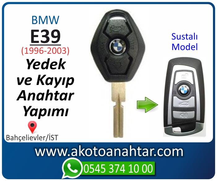 bmw 5 serisi e39 anahtari anahtar key yedek yaptirma fiyati kopyalama cogaltma kayip 1998 1999 2000 2001 2002 2003 model - Bmw E39 Anahtarı | Yedek ve Kayıp Anahtar Yapımı
