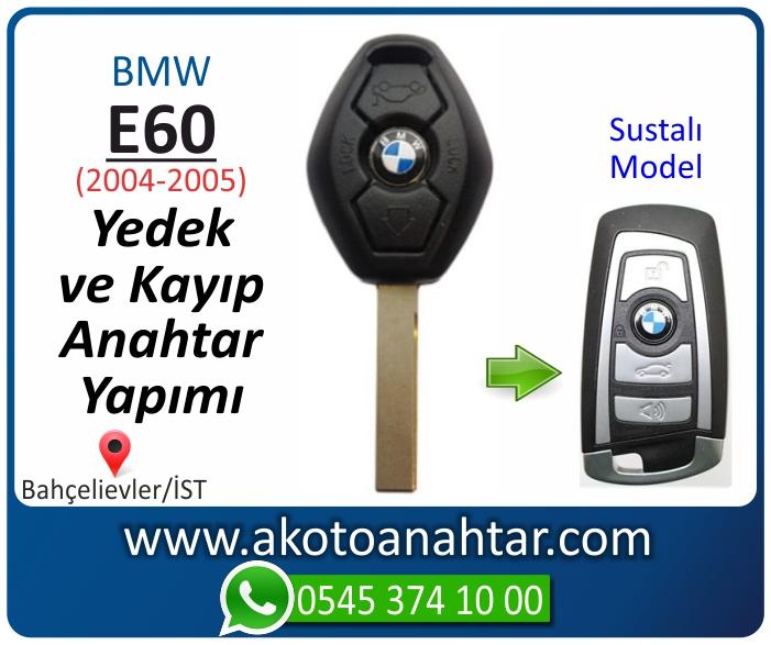 bmw 5 serisi e60 anahtari anahtar key yedek yaptirma fiyati kopyalama cogaltma kayip 2004 2005 model - Bmw E60 Anahtarı | Yedek ve Kayıp Anahtar Yapımı